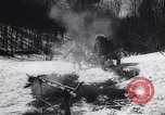Image of Dog sled team rescues pilot United States USA, 1944, second 24 stock footage video 65675040790