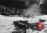 Image of Dog sled team rescues pilot United States USA, 1944, second 25 stock footage video 65675040790