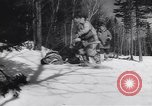 Image of Dog sled team rescues pilot United States USA, 1944, second 31 stock footage video 65675040790