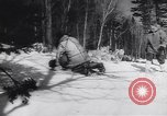 Image of Dog sled team rescues pilot United States USA, 1944, second 33 stock footage video 65675040790