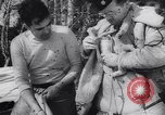Image of Dog sled team rescues pilot United States USA, 1944, second 34 stock footage video 65675040790