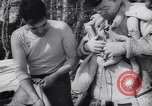 Image of Dog sled team rescues pilot United States USA, 1944, second 35 stock footage video 65675040790
