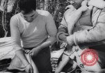 Image of Dog sled team rescues pilot United States USA, 1944, second 38 stock footage video 65675040790