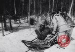 Image of Dog sled team rescues pilot United States USA, 1944, second 44 stock footage video 65675040790