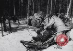 Image of Dog sled team rescues pilot United States USA, 1944, second 45 stock footage video 65675040790