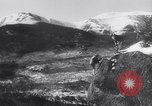 Image of Dog sled team rescues pilot United States USA, 1944, second 55 stock footage video 65675040790