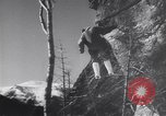 Image of Dog sled team rescues pilot United States USA, 1944, second 56 stock footage video 65675040790