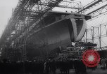 Image of aircraft carrier Shangri-La Portsmouth Virginia USA, 1944, second 8 stock footage video 65675040794