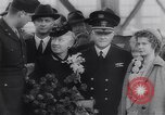 Image of aircraft carrier Shangri-La Portsmouth Virginia USA, 1944, second 12 stock footage video 65675040794