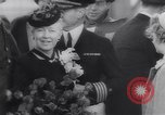 Image of aircraft carrier Shangri-La Portsmouth Virginia USA, 1944, second 15 stock footage video 65675040794