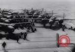 Image of aircraft carrier Shangri-La Portsmouth Virginia USA, 1944, second 29 stock footage video 65675040794