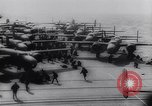 Image of aircraft carrier Shangri-La Portsmouth Virginia USA, 1944, second 31 stock footage video 65675040794