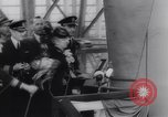 Image of aircraft carrier Shangri-La Portsmouth Virginia USA, 1944, second 58 stock footage video 65675040794