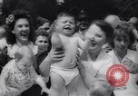 Image of Baby Contest California United States USA, 1944, second 24 stock footage video 65675040798