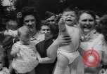 Image of Baby Contest California United States USA, 1944, second 27 stock footage video 65675040798