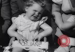 Image of Baby Contest California United States USA, 1944, second 31 stock footage video 65675040798