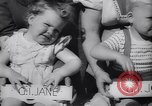 Image of Baby Contest California United States USA, 1944, second 32 stock footage video 65675040798