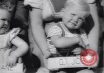 Image of Baby Contest California United States USA, 1944, second 34 stock footage video 65675040798