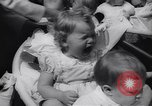 Image of Baby Contest California United States USA, 1944, second 52 stock footage video 65675040798