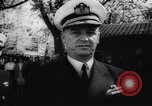 Image of Admiral John Beardall Annapolis Maryland USA, 1944, second 38 stock footage video 65675040800