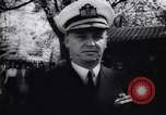Image of Admiral John Beardall Annapolis Maryland USA, 1944, second 39 stock footage video 65675040800