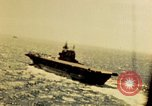 Image of Navy fighter aircraft landing on USS Essex Pacific Theater, 1945, second 12 stock footage video 65675040813