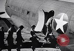 Image of US Army paratroopers jump from C-47 North Africa, 1942, second 14 stock footage video 65675040824
