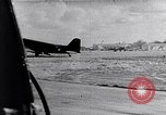 Image of US Army paratroopers jump from C-47 North Africa, 1942, second 18 stock footage video 65675040824