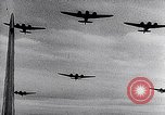 Image of British Royal Air Force bombing operations in World War II France, 1943, second 18 stock footage video 65675040825