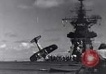 Image of F4U Corsair noses over Pacific Theater, 1943, second 23 stock footage video 65675040834