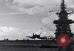 Image of Accidents on USS Bunker Hill during World War II Pacific Theater, 1943, second 5 stock footage video 65675040835