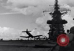 Image of Accidents on USS Bunker Hill during World War II Pacific Theater, 1943, second 6 stock footage video 65675040835