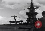 Image of Accidents on USS Bunker Hill during World War II Pacific Theater, 1943, second 7 stock footage video 65675040835