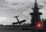 Image of Accidents on USS Bunker Hill during World War II Pacific Theater, 1943, second 9 stock footage video 65675040835