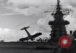 Image of Accidents on USS Bunker Hill during World War II Pacific Theater, 1943, second 10 stock footage video 65675040835