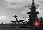 Image of Accidents on USS Bunker Hill during World War II Pacific Theater, 1943, second 13 stock footage video 65675040835