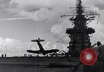 Image of Accidents on USS Bunker Hill during World War II Pacific Theater, 1943, second 14 stock footage video 65675040835