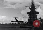 Image of Accidents on USS Bunker Hill during World War II Pacific Theater, 1943, second 15 stock footage video 65675040835