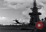 Image of Accidents on USS Bunker Hill during World War II Pacific Theater, 1943, second 16 stock footage video 65675040835