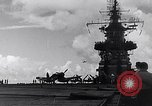 Image of Accidents on USS Bunker Hill during World War II Pacific Theater, 1943, second 18 stock footage video 65675040835