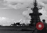 Image of Accidents on USS Bunker Hill during World War II Pacific Theater, 1943, second 19 stock footage video 65675040835