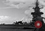 Image of Accidents on USS Bunker Hill during World War II Pacific Theater, 1943, second 22 stock footage video 65675040835
