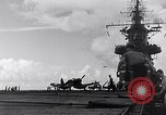 Image of Accidents on USS Bunker Hill during World War II Pacific Theater, 1943, second 23 stock footage video 65675040835