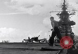 Image of Accidents on USS Bunker Hill during World War II Pacific Theater, 1943, second 24 stock footage video 65675040835