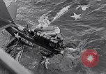 Image of Accidents on USS Bunker Hill during World War II Pacific Theater, 1943, second 30 stock footage video 65675040835