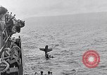 Image of Accidents on USS Bunker Hill during World War II Pacific Theater, 1943, second 42 stock footage video 65675040835