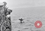 Image of Accidents on USS Bunker Hill during World War II Pacific Theater, 1943, second 44 stock footage video 65675040835