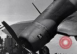 Image of F4U Corsair Pacific Theater, 1943, second 52 stock footage video 65675040836