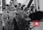 Image of Pacific Islanders in dugout canoes Pacific Theater, 1942, second 34 stock footage video 65675040839