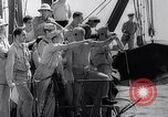 Image of Pacific Islanders in dugout canoes Pacific Theater, 1942, second 35 stock footage video 65675040839